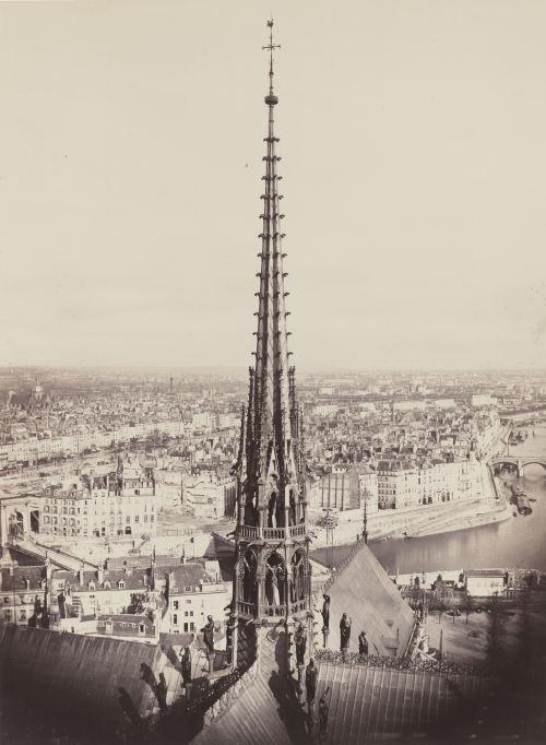 3. Flèche de Notre Dame, Viollet-le-Duc, Ar (Spire of Notre Dame, Viollet-le-Duc, Ar[chitect])